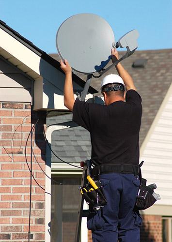 DStv satellite dish aerial installation johannesburg